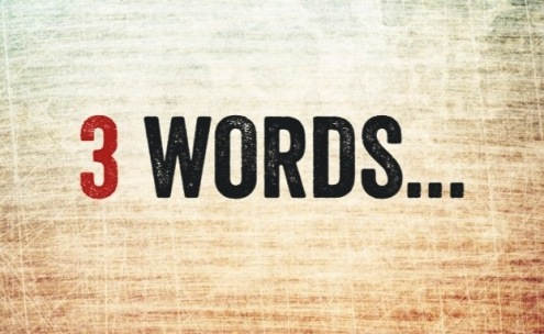 3 WORDS - Formatted